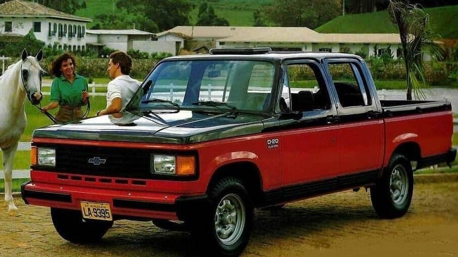 Chevrolet D20: a mãe da S10 era um dos modelos mais elegantes da década de 80 disponível no Brasil