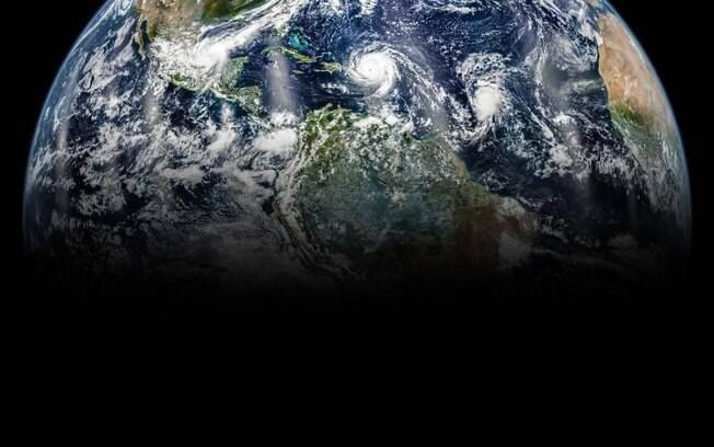 Foto divulgada em homenagem ao Dia da Terra de 2019