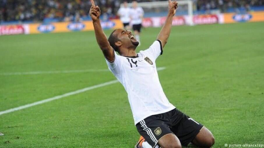Cacau disputou a Copa do Mundo de 2010 pela Alemanha