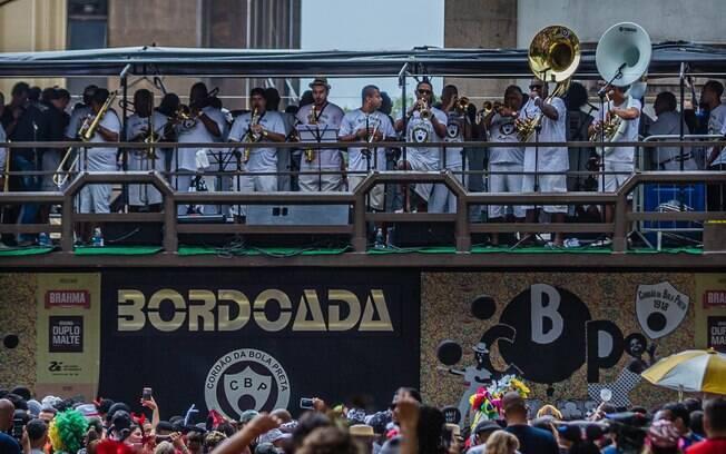 Apreensão aconteceu durante o bloco Cordão da Bola Preta, no Rio