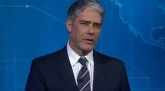 Globo estuda possíveis nomes para substituir Bonner na bancada
