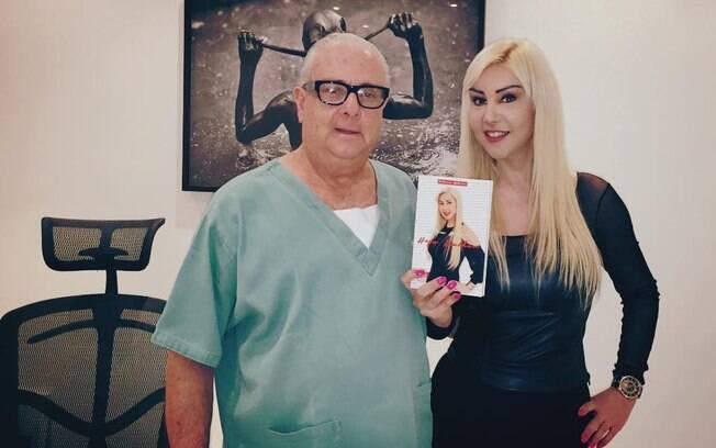 A cantora trans portuguesa Patricia Ribeiro é uma das pacientes trans satisfeitas com a intervenção do cirurgião brasileiro Luiz Paulo Barbosa.