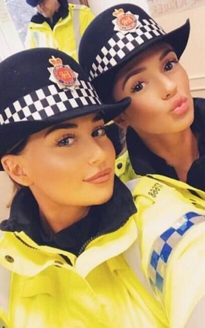 Policial Comentários machistas