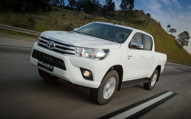 Toyota Hilux: de acordo com o levantamento da Minuto Seguros, trata-se da picape com  seguro mais caro do País