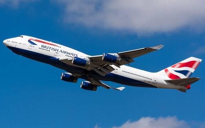 Boeing 747 que operou na British Airways será preservado como set de filmagens