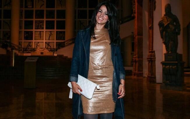 Susana Alves, a eterna Tiazinha, também esteve por lá. Foto  Manuela Scarpa 4e0590c83d
