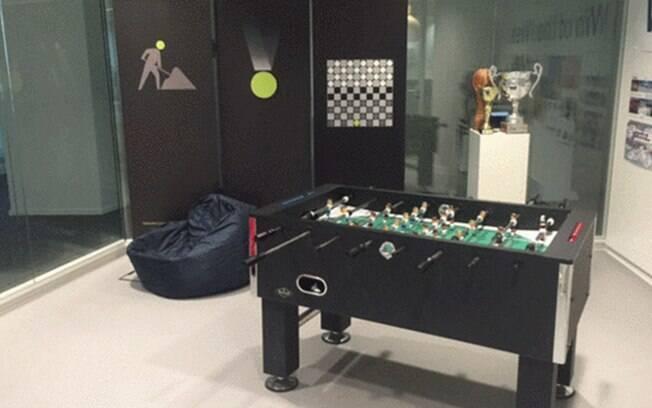 Uma sala em cada andar da Deloitte foi deixada vazia para ser mobiliada pelos funcionários