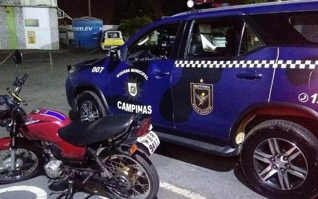 Dois homens são presos após roubarem motoboy em Campinas