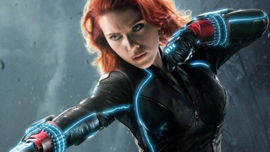 Scarlett Johansson de Viúva Negra