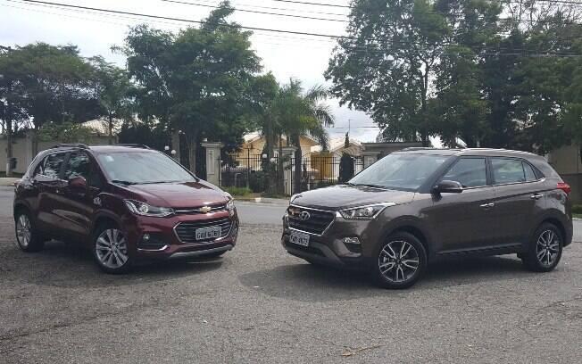 Chevrolet Tracker x Hyundai Creta: falta de controle de estabilidade e de espaço no porta-malas prejudica  o SUV da GM