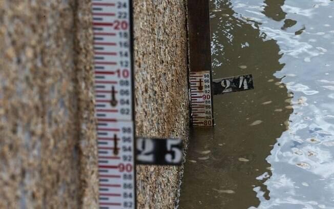 Barragem do Descoberto está com nível baixo; governo federal autorizou obra para captação de água do Rio Paranoá