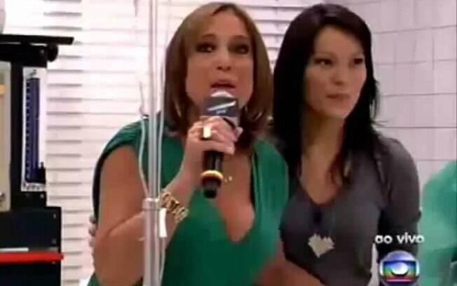 Quando Geovana pediu para que Susana a ensinasse, a atriz disparou: 'Não vou ensinar nada, que não sou apresentadora'
