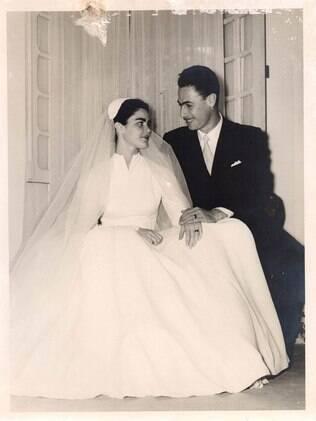 Registro fotográfico do casamento de Ruy e Maria