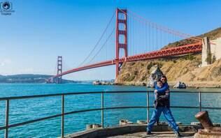 Casal de executivos larga tudo aos 50 anos para viajar pelo mundo