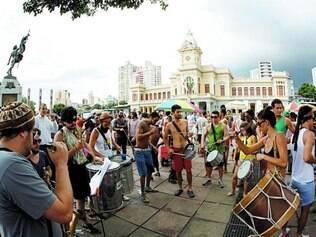 Centro. Evento de amanhã pretende ocupar a região do viaduto Santa Tereza e da praça da Estação