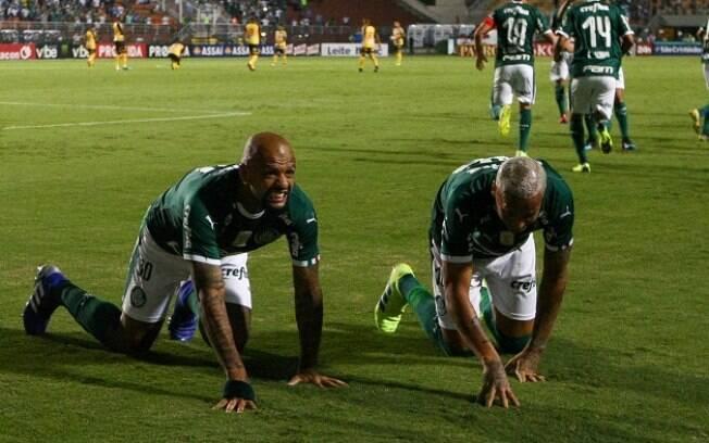 Sem dificuldades, e com o VAR funcionando, Palmeiras venceu por 5 a 0 e se classificou para as semifinais do Paulista