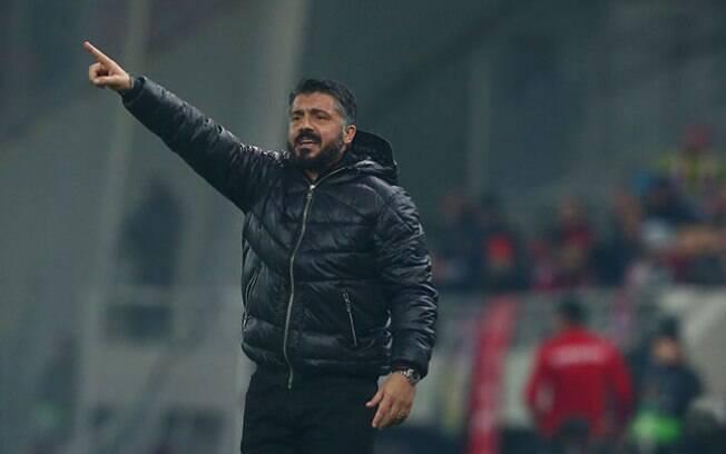 Gattuso é o atual técnico do Milan e pode ser prejudicado com as punições aplicadas pela Uefa