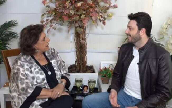 Danilo Gentili em entrevista para Leda Nagle