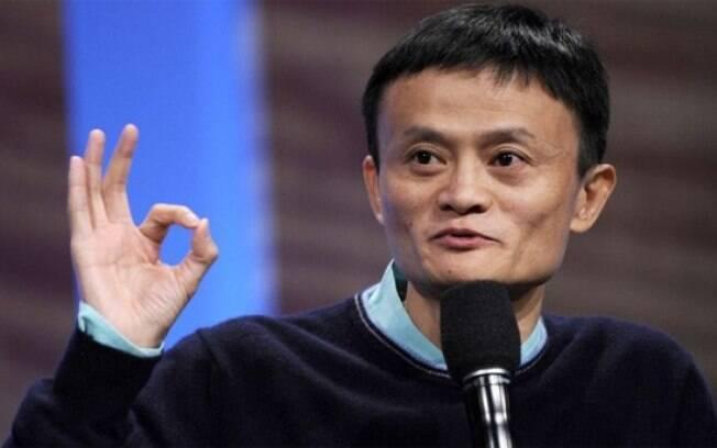Jack Ma, homem mais rico da CHina, chamou de