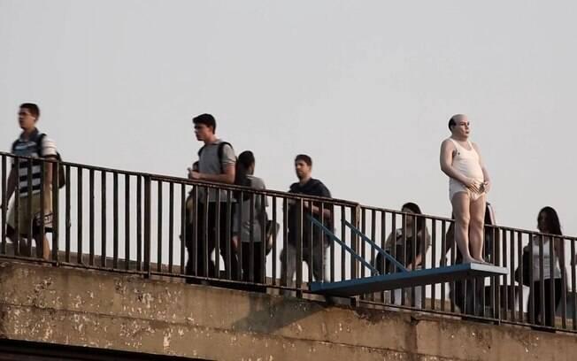 Esculturas de arte invadiram as margens do rio Pinheiros em São Paulo