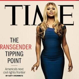 Laverne Cox na capa da revista TIME