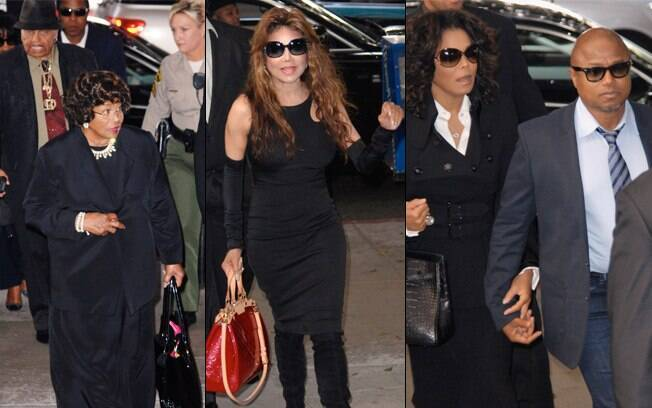A família de Michael Jackson está acompanhando todos os dias de julgamento