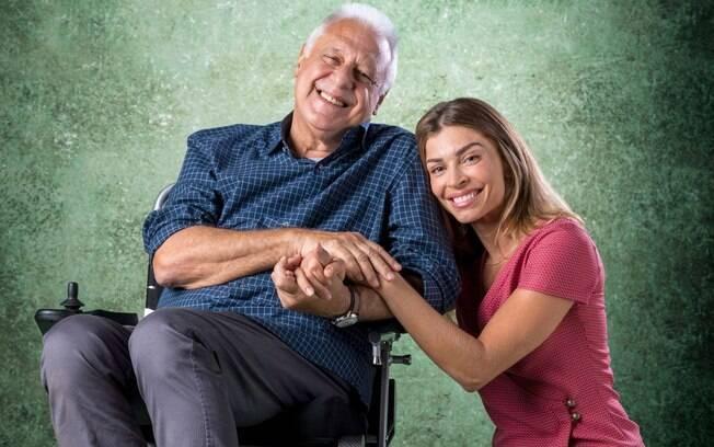 Alberto e Paloma, personagens de