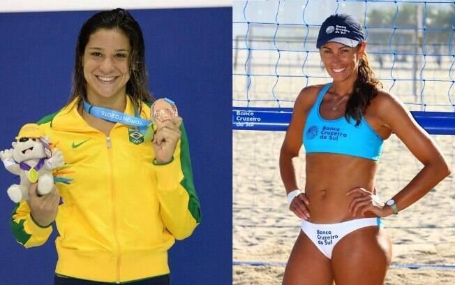 Atletas olímpicas, Joanna Maranhão e Ana Paula discutiram no Twitter