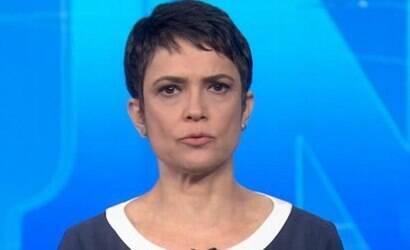 Globo pode demitir Sandra Annenberg após 33 anos