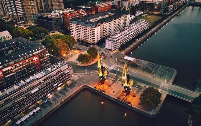 Puerto Madero é a região mais recomendada para passar o ano novo na cidade de Buenos Aires, na Argentina