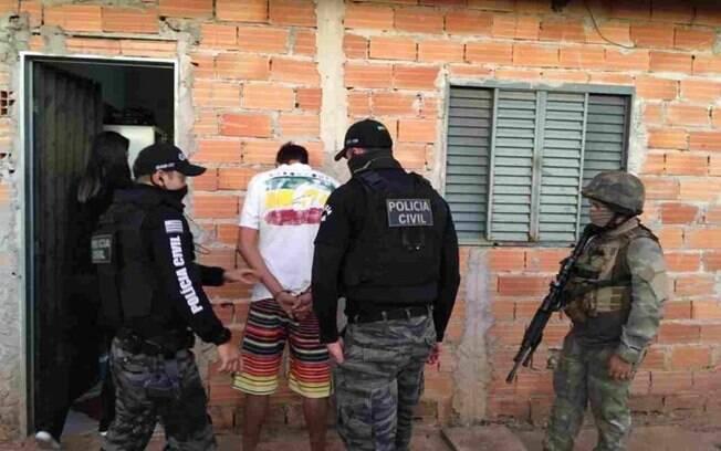 Homem foi preso nesta quarta-feira