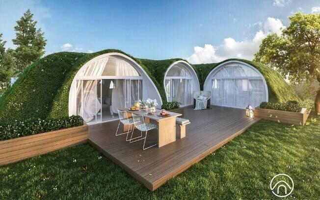 Com as 'Green Magic Homes', é possível viver como um hobbit e, melhor ainda, de maneira sustentável