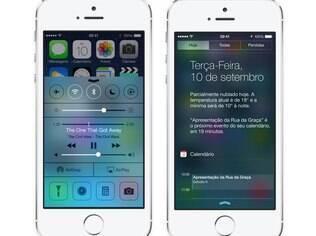 iOS 7 é a versão atual do sistema operacional da Apple para dispositivos móveis como iPhone e iPad
