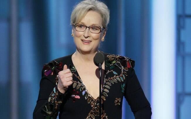Meryl Streep foi a atriz mais premiada da história do Globo de Ouro