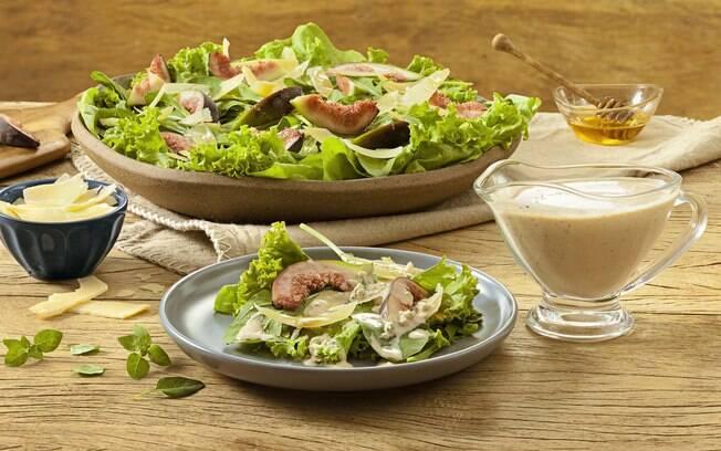 A salada é uma ótima entrada