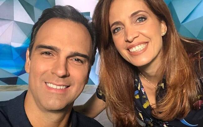 Tadeu Schmidt e Poliana Abritta entram na mira da Globo