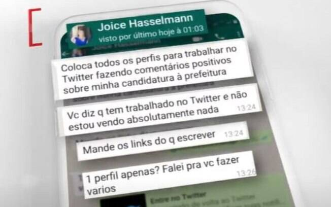 Joice Fake News
