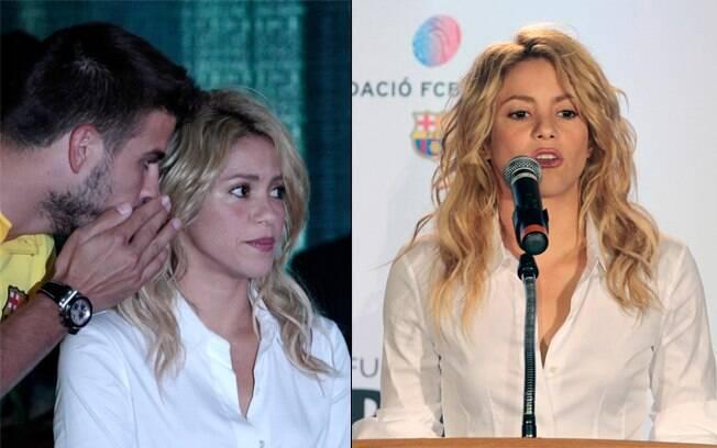 Piqué ao pé do ouvido de Shakira