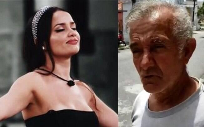 Juliette Freire e seu pai, Lourival Feitosa