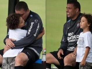 Ronaldo assumiu a paternidade de Alexander Umezu em dezembro de 2010, após teste de DNA