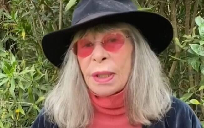 Rita Lee fala sobre mudanças no comportamento ao envelhecer