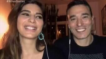 Rizek revela esporros de Andréia Sadi e recebe mais um na web