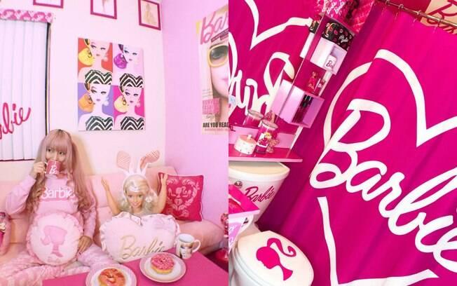 Dona da casa da Barbie da vida real, Azusa afirma que é uma fã nota cem da boneca em uma escala de um a dez