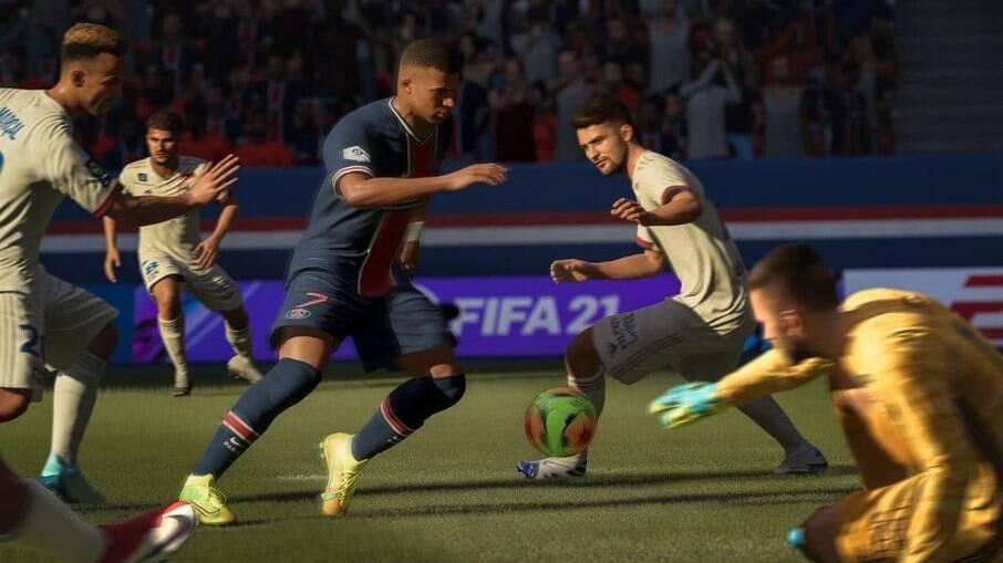 FIFA 21 é um dos jogos com desconto