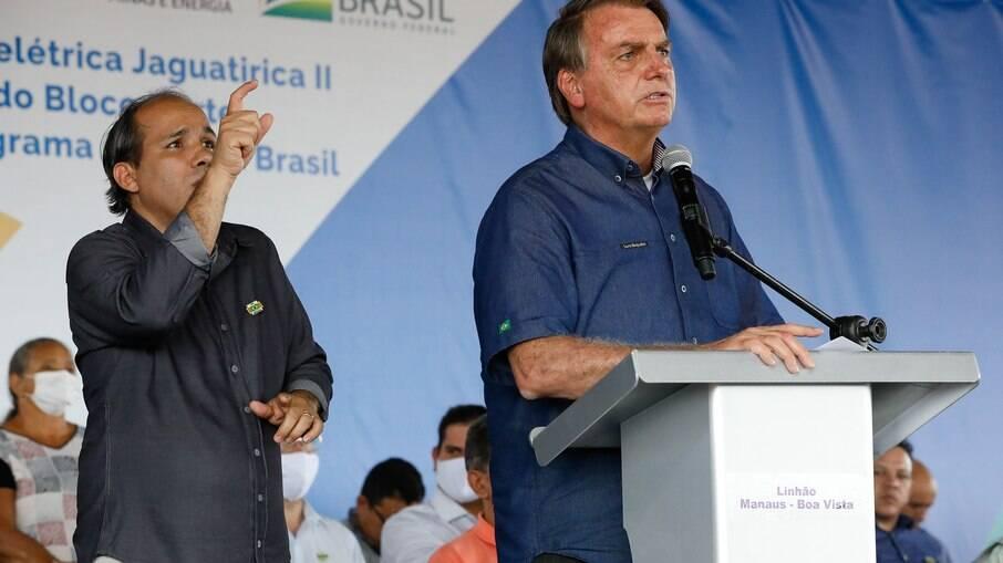Presidente Jair Bolsonaro acusou Lula de querer adotar modelo econômico da China