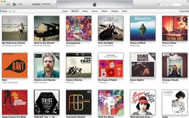 iTunes 11 ganha nova interface de navegação por biblioteca de músicas e filmes