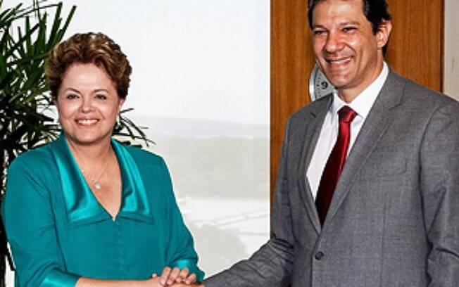 Dilma e Haddad