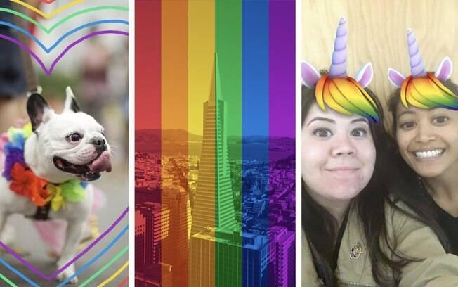 Facebook Stories contará com filtros temáticos para usuários celebrarem mês do orgulho LGBT