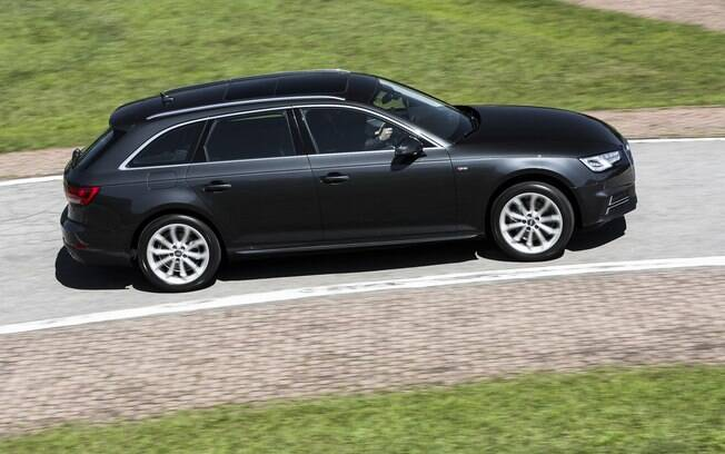Audi A4 Avant vai bem nas curvas, mas não tem a pegada de um carro realmente esportivo