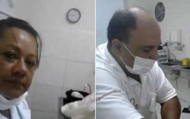 Os dois funcionários da Clínica Oeste foram demitidos após vazarem fotos e vídeo do corpo de Cristiano Araújo